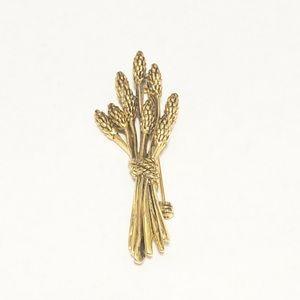 Gold Tone Brooch Pin
